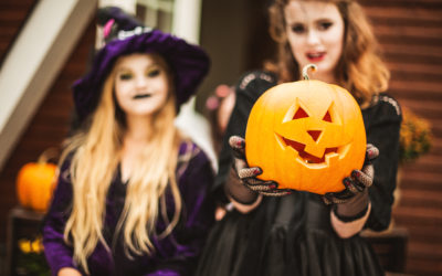 3 ways to feel good or 'better' about giving your child some freedom, on Halloween